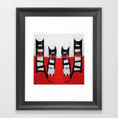 GoodluckGatti Framed Art Print