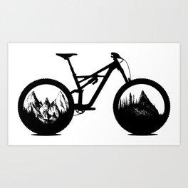 Enduro Art Print