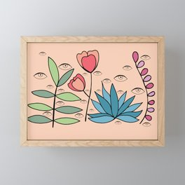 Eye Garden Framed Mini Art Print