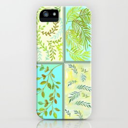 Ferns & Leaves - by Fanitsa Petrou iPhone Case