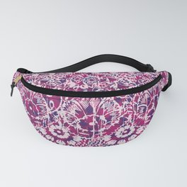 sun floral paisley colorful Fanny Pack