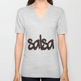 Salsa AAA Pattern C Unisex V-Neck