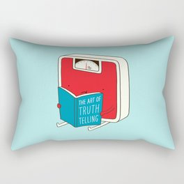 The art of Truth Telling Rectangular Pillow