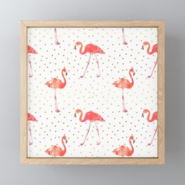 Flamingo and the Tropics Framed Mini Art Print