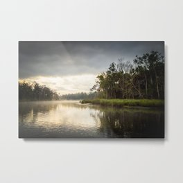 Early Morning, Chassahowitzka River Metal Print
