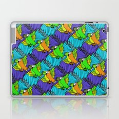 Tessellated Parrots Laptop & iPad Skin