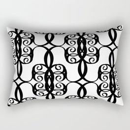 LETTERNS - C - Curlz MT Rectangular Pillow