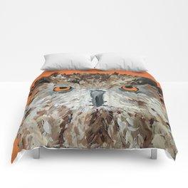 Wise Owl.  Hootie, Who, Who Comforters
