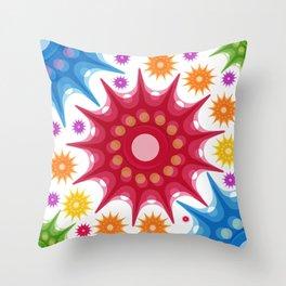 Spora Throw Pillow