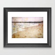 Remembering the Sea Framed Art Print