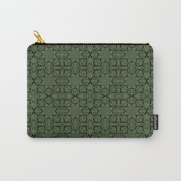 Kale Geometric Carry-All Pouch