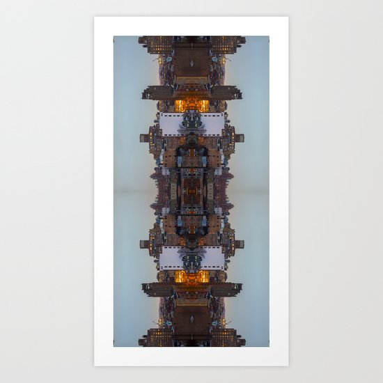 New York Symmetry  Art Print