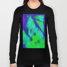 Green Color Package Long Sleeve T-shirt
