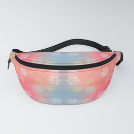 Funny Winter Background Pattern Fanny Pack