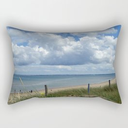 Utah Beach Normandy France Rectangular Pillow