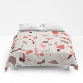 Rose Terrazzo - Light Comforters