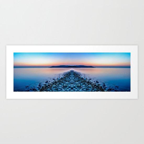 Sunset Way Art Print