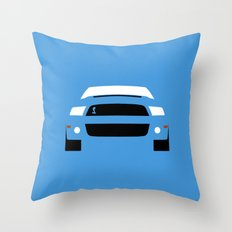 Ford Mustang Shelby GT500 ( 2013 ) Throw Pillow