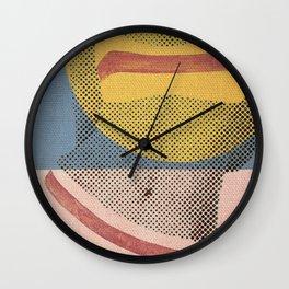 Gerald Laing's Girls 2 Wall Clock
