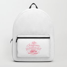 Christmas Holiday Merry & Bright pw Backpack