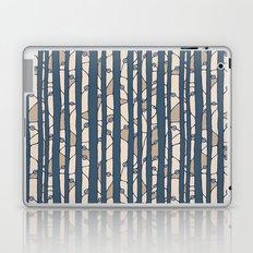 Into The Woods blue cream Laptop & iPad Skin