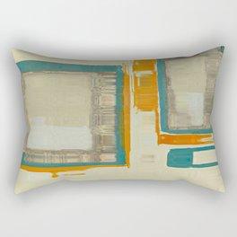 Mid Century Modern Blurred Abstract Best Most Popular Rectangular Pillow