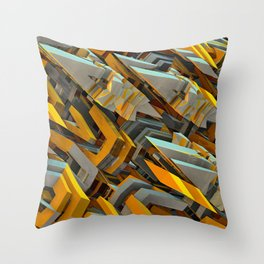 Transformer Fish Throw Pillow