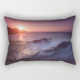 Sunrise at Bracelet Bay Rectangular Pillow