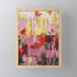 Coneflowers And Sun Framed Mini Art Print