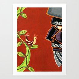 Jack & The Beanstalk Ⅳ Art Print