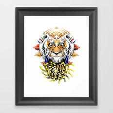 Keep Fierce II Framed Art Print