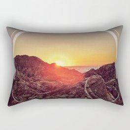 Peel Sunset Rectangular Pillow