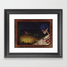 La Serenata Framed Art Print
