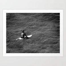 Surfer, Fuerteventura. Art Print