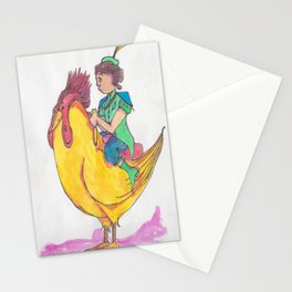 Prince of West Beak Stationery Cards