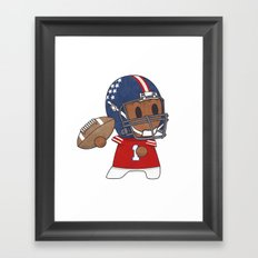American Football II Framed Art Print