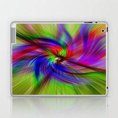 Coloured Whirligig Laptop & iPad Skin