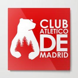 Slogan: A. Madrid Metal Print