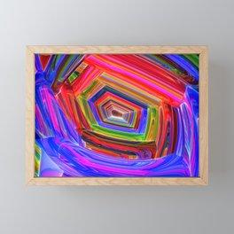 Spectrum Tunnel Framed Mini Art Print