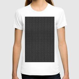 Mud Cloth Arrow Dot Glam #2 #pattern #decor #art #society6 T-shirt