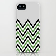 GREEN CHEVRON Slim Case iPhone (5, 5s)