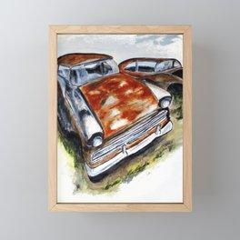 Junk Car No. 10 Framed Mini Art Print