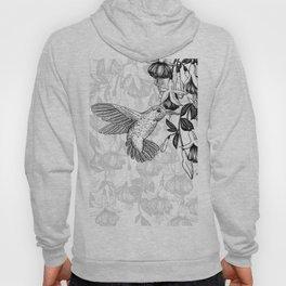 Hummingbird and fuchsia Hoody