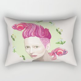 Tilda Swinton Rectangular Pillow
