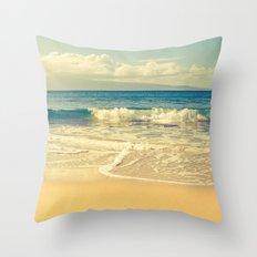 Kapalua Maui Hawaii Throw Pillow