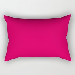 UA red - solid color Rectangular Pillow