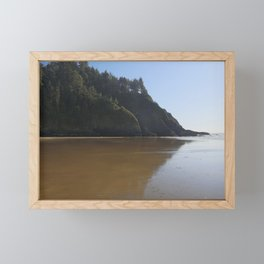 Reflections in the Sand Framed Mini Art Print