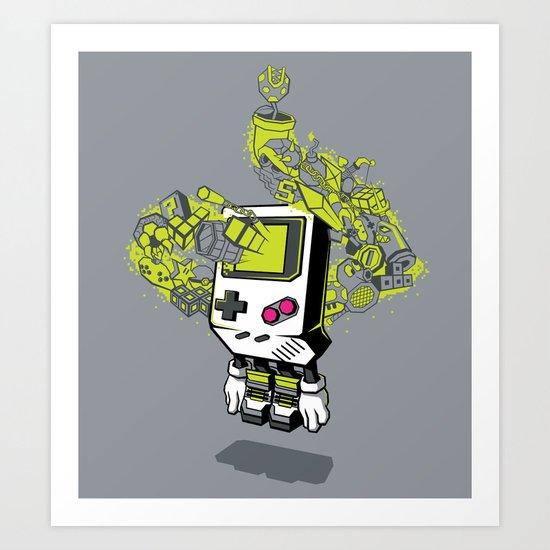 Pixel Dreams Art Print