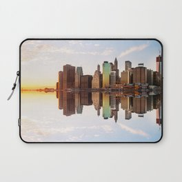 Reflection of Manhattan Laptop Sleeve