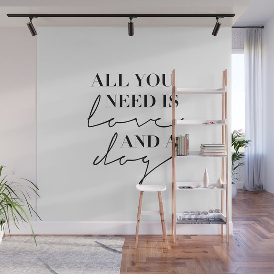 All You Need Is Love and A Dog by typologiepaperco